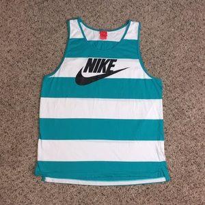 Nike   Glory Striped Tank Top